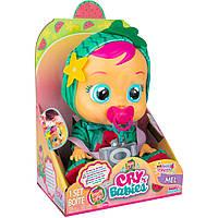 Интерактивная кукла Плакса Cry Babies Tutti Frutti Mel The Watermelon Арбуз Мел