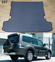 Килимки ЄВА в багажник Mitsubishi Pajero Wagon 4 '07-