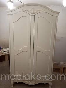Шкаф деревянный на ножках на 2 двери ЧП Румянцев