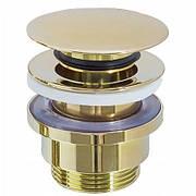 Донный клапан Rea универсальный, золотой (REA-A2360)
