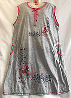 """Домашнє плаття жіноче батал, розміри 4XL-8XL """"SHELLY"""" купити оптом в Одесі на 7км"""