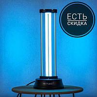 Кварцевая бактерицидная гермицидная  лампа V-TAC VT-3239 UVC 38W 60м2 Black