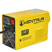 Сварочные аппарат Кентавр СВ-255НM Инвертор постоянного тока ММА форсаж дуги компактный для дома 10 кВт 220 В, фото 3