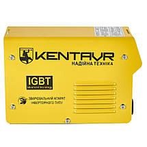 Сварочные аппарат Кентавр СВ-255НM Инвертор постоянного тока ММА форсаж дуги компактный для дома 10 кВт 220 В, фото 2