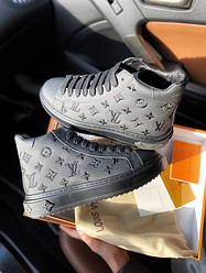 LV Sneakers High Black
