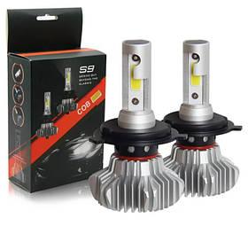 Лампа автомобильная LED S9 H7 (Silver) | Диодная лампа для автомобиля