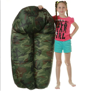 Надувной матрас ламзак AIR sofa ARMY LAMZAC