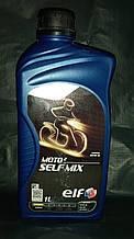 Масло моторное Elf Ельф мото Moto 2T 1л Self Mix