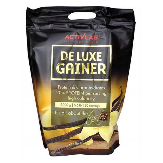 Гейнер Activlab De Luxe Gainer, 3 кг Ваниль