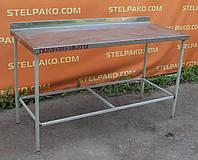 Стол производственный на металл. основе 150х70х85 см., (Украина), Б/у
