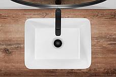 Умывальник (раковина) REA ANITA N 48 накладной белый, фото 3