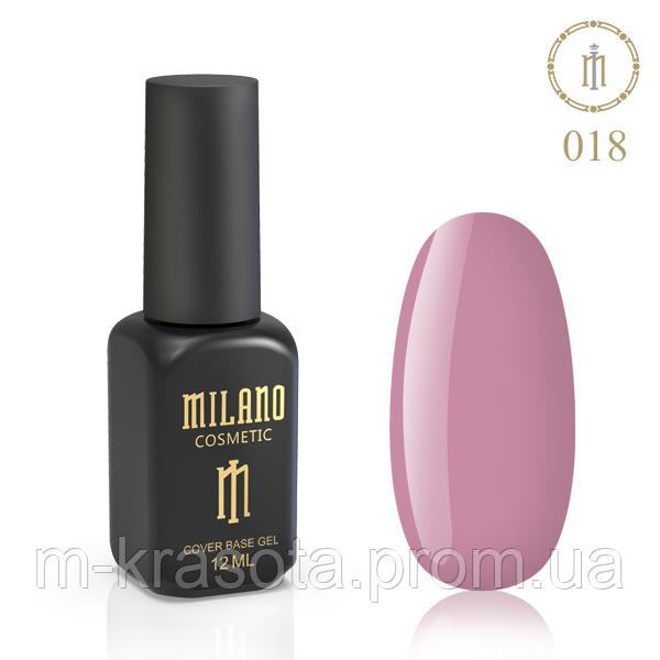 Цветная База Milano 12 Мл № 18