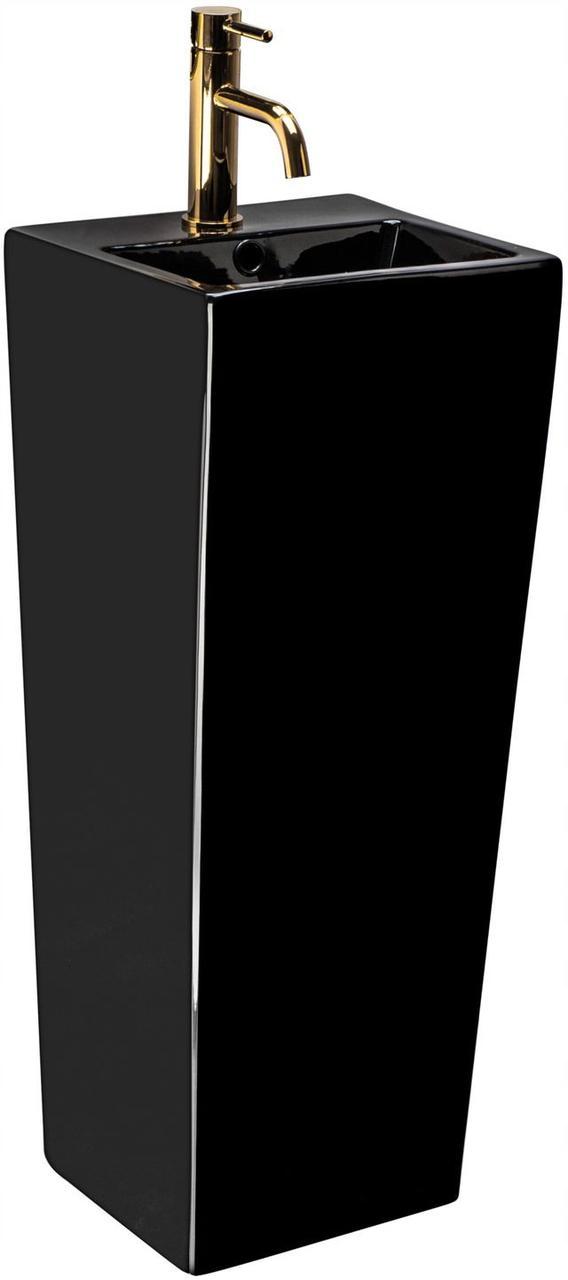 Умивальник (раковина) REA KAMILA BLACK підлоговий чорний