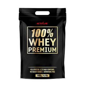 Протеїн Activlab 100% Whey Premium, 2 кг Вершкова помадка