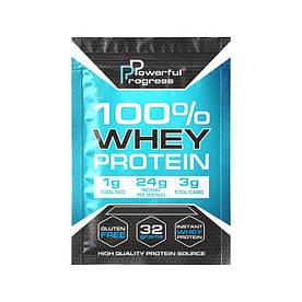 Протеїн Powerful Progress 100% Whey Protein, 32 грами Банан