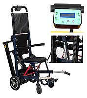 Лестничный подъемник для инвалидов MIRID SW04. Электроуправление углом наклона гусениц.