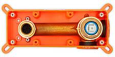 Смеситель для раковины (умывальника) REA LUNGO GOLD золотой скрытого монтаж, фото 3