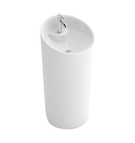 Умивальник (раковина) REA MOLLY підлоговий білий, фото 2