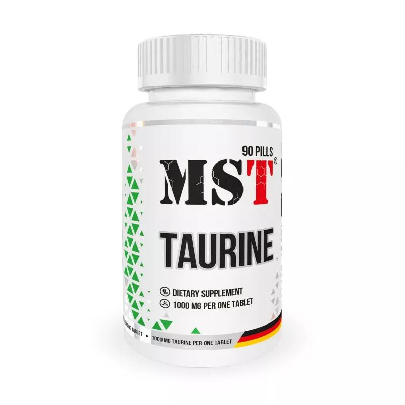 Аминокислота MST Taurine 1000, 90 таблеток