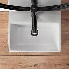 Умывальник (раковина) REA ECHO накладной белый, фото 3