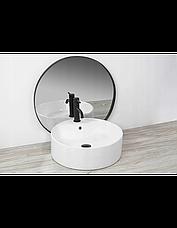Умывальник (раковина) REA VENA накладной белый, фото 3
