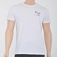 Чоловіча футболка з накаткою Puma (репліка) білий