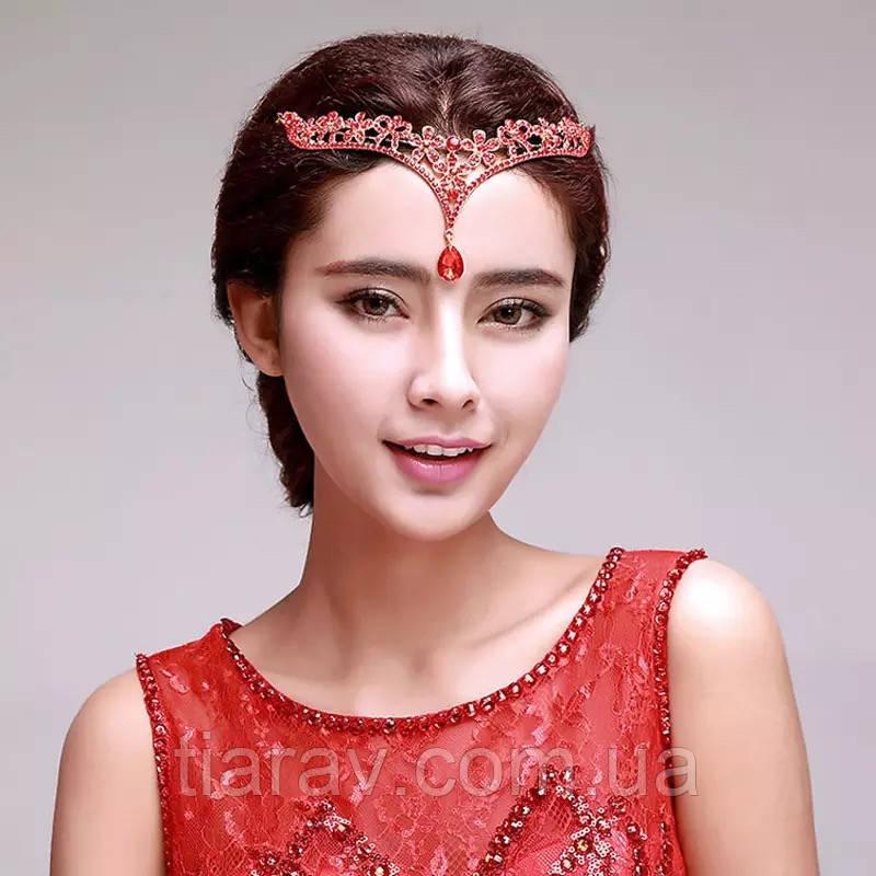 Украшение для волос тика Шахеризада, диадема в индийском стиле