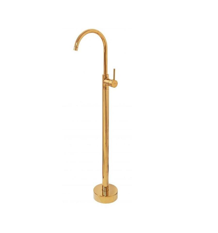 Смеситель для раковины (умывальника) REA ORTIS GOLD золотой