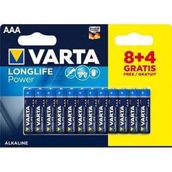 Набір батарейок Varta Longlife AAА 12 штук