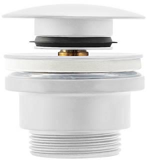 Донний клапан для умивальника REA KLIK-KLAK WHITE білий, фото 2