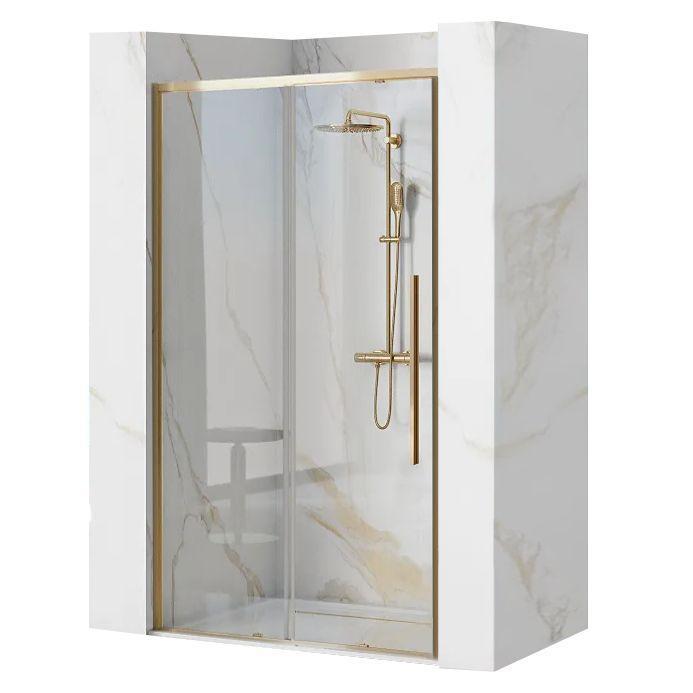 Душова двері REA SOLAR GOLD 120