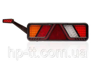Світлодіодний ліхтар задній універсальний лівий Fristom 6 функцій FT-700-146 L LED