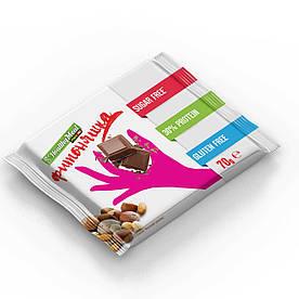 Заменитель питания Power Pro Фитоняшка, 70 грамм Молочный шоколад с фундуком