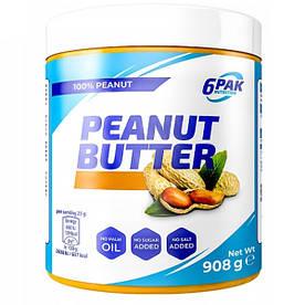 Заменитель питания 6PAK Nutrition Peanut Butter Pak, 908 грамм (Smooth)