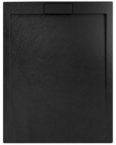 Душовий піддон REA GRAND BLACK 80X100, фото 2