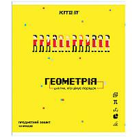 Зошит Kite предметний 48 арк. клітка гібр лак з УФ, Pixel, геометрія K21-240-11 (упаковка 8 шт.)