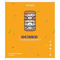Зошит Kite предметний 48 арк. клітка гібр лак з УФ, Pixel, фізика K21-240-15 (упаковка 8 шт.)