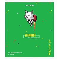 Зошит Kite предметний 48 арк. клітка гібр лак з УФ, Pixel, хімія K21-240-14 (упаковка 8 шт.)