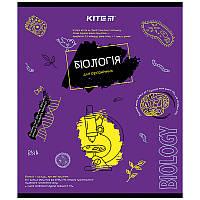 Зошит Kite предметний 48 арк. клітка об. лак, Classic, біологія K21-240-01 (упаковка 8 шт.)