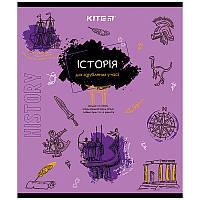 Зошит Kite предметний 48 арк. клітка об. лак, Classic, історія K21-240-04 (упаковка 8 шт.)