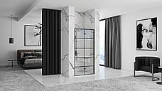 Душова двері REA MOLIER BLACK 80, фото 3