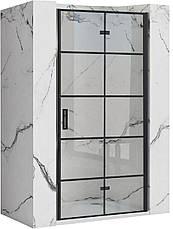 Душова двері REA MOLIER BLACK 80, фото 2