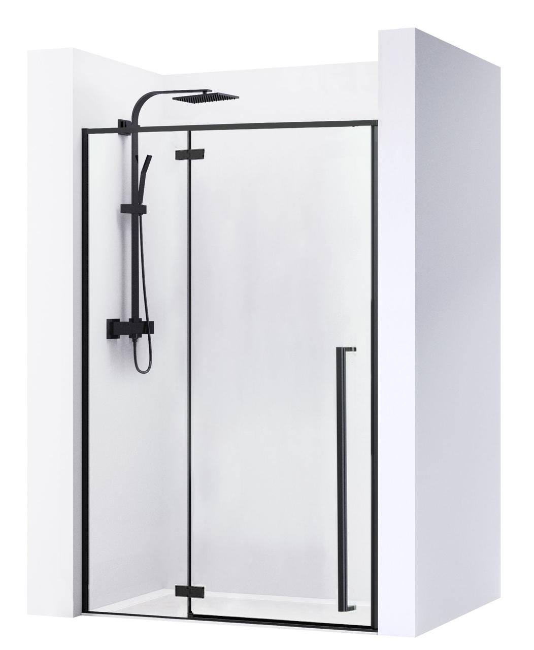 Душова двері REA FARGO BLACK MAT 110