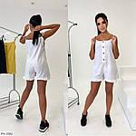 Жіночий комбінезон з шортами льон, фото 5