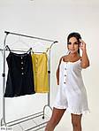 Жіночий комбінезон з шортами льон, фото 6