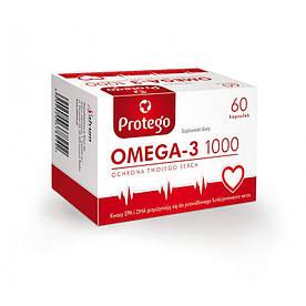 Жирные кислоты Salvum Protego Omega-3 1000, 60 капсул