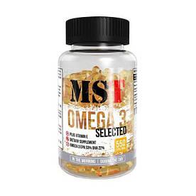 Жирные кислоты MST Omega 3 Selected 55%, 110 капсул