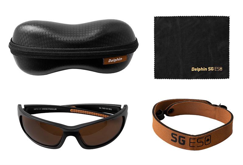 Сонцезахисні поляризаційні окуляри Delphin SG ESO