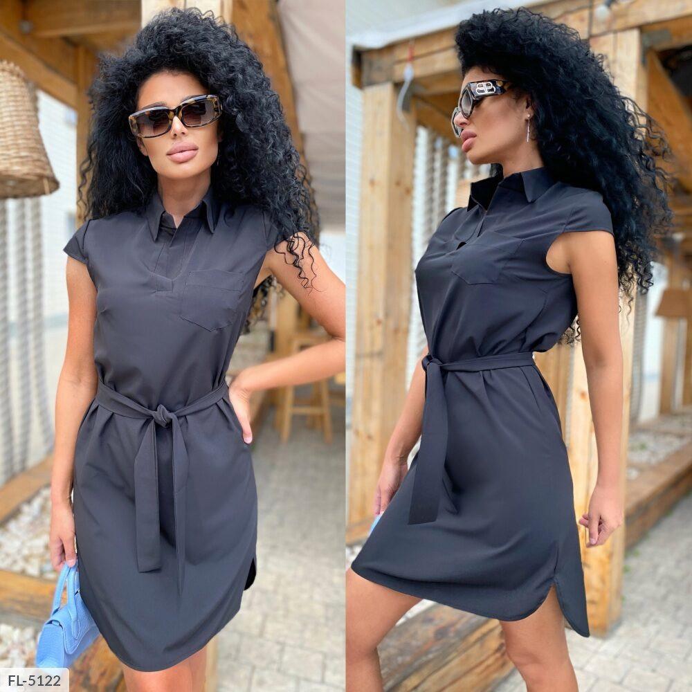 Платье-рубашка софт