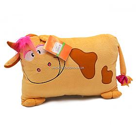 Мягкая игрушка подушка «Бичок Зефирка» Копыця, бежевый, 35*25*10 см, (00241-91)